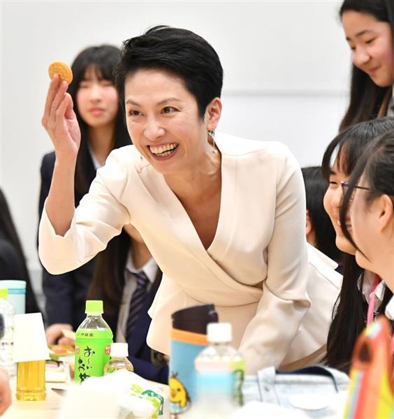 蓮舫氏が台湾・蔡総統と会談 「...