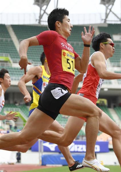 【陸上】桐生祥秀、初戦200メートルは5位 決勝21秒13、予選20秒69 - 産経ニュース