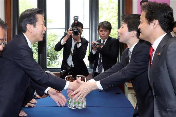 国民民主党結成】執行部が与野党...