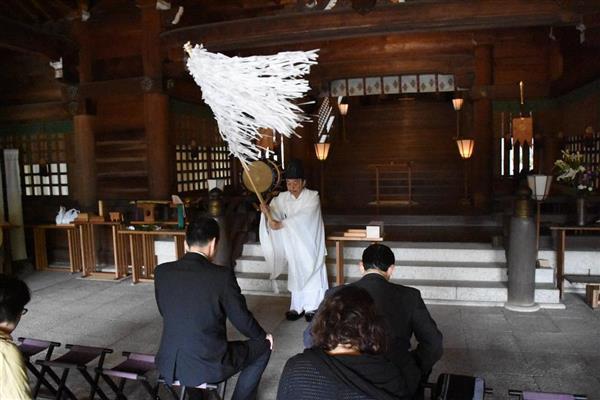 神武天皇の兄・彦五瀬命の命日、和歌山・竈山神社で厳かに「雄誥祭」