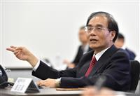 シャープ社長来年度まで続投、会長も兼務 台湾・鴻海出身の戴氏