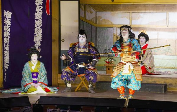 村民継承の伝統歌舞伎 福島・檜枝岐で上演 - 産経ニュース