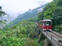 【江藤詩文の世界鉄道旅】香港の観光列車ピーク・トラム(5)意外と知らない途中下車 クラ…