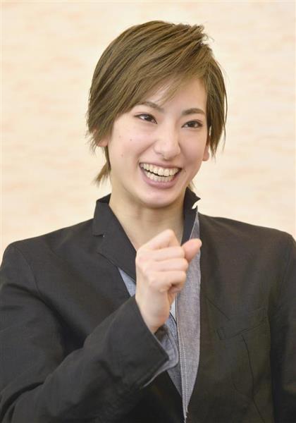 宝塚花組男役スターの柚香光=兵庫県宝塚市(須谷友郁撮影)