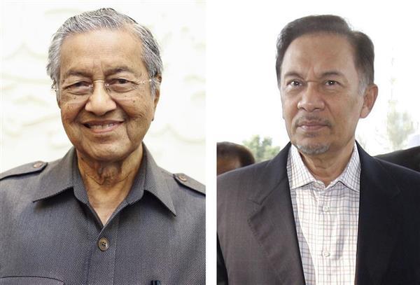 マレーシアのアンワル元副首相、16日にも釈放 マハティール氏後継者 ...