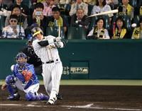 【プロ野球】阪神・代打原口が2点二塁打