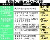 """【経済インサイド】国会空転長引き """"ガンプラ""""などアベノミクス支える「産業競争力強化法…"""