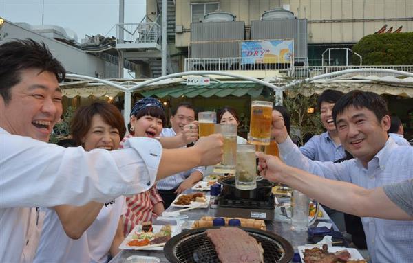 蒸し暑さ吹き飛ばせ 姫路でビアガーデン営業開始 - 産経ニュース