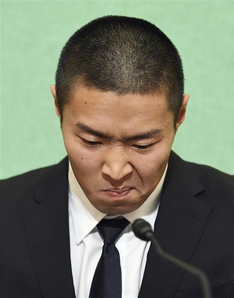 日大悪質タックル選手会見詳報(...