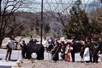 むかさり行列、半世紀ぶり復活 山形・最上町の伝統行事 宮城出身女性の嫁入りで