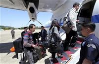 【激動・朝鮮半島】外国記者団、核実験場へ出発 「完全に安全」と放射線量計は没収