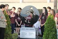 【歴史戦】米ニュージャージー州で5例目、慰安婦碑が除幕式 韓国系4割の町フォートリー