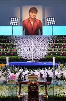 歌手、西城秀樹さんの通夜に列 法名は「修音院釋秀樹」 郷ひろみさん「心に穴」