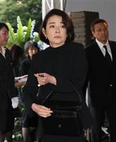 【西城秀樹さん通夜】女優、岸本加世子さん「恩人で世話を焼いてくれる兄貴」