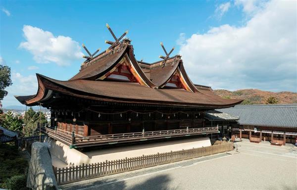 「桃太郎伝説」で有形・無形の文化財が集中する吉備津神社=岡山市北区