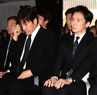 歌手・西城秀樹さん葬儀に1万人参列 野口五郎さん「君のことを思い出して泣いてばかりいる…