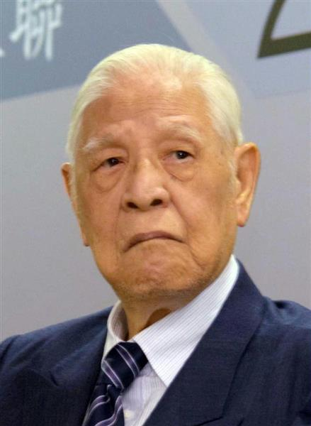 台湾の李登輝元総統(田中靖人撮影)