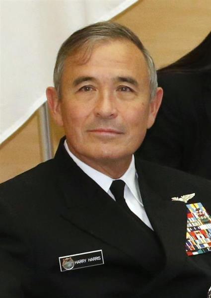 ハリス米太平洋軍司令官