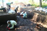 南陽市の長岡南森遺跡、古墳の可能性濃厚