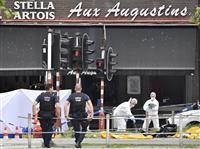 ベルギーでイスラム過激派テロか 警官ら3人死亡、実行犯「神は偉大なり」と叫び発砲