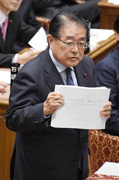 公明党・石田政調会長、麻生発言...