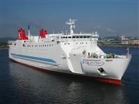 宮古-室蘭間フェリー22日就航 宮古港、ターミナル完成 岩手知事「貨物拠点、復興に力」