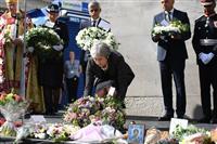 ロンドン橋、悲しみ新たに テロ発生から1年、追悼式典にメイ首相ら出席 「脅威に打ち勝つ…