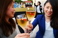 【ビジネスの裏側】ビアガーデンで「ビール離れ」 苦手な客にワインやハイボール提供