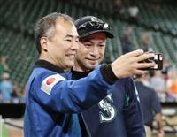 【MLB】イチローを宇宙飛行士の野口聡一さんが表敬訪問、「米国人にも尊敬されている」
