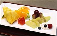 【将棋】棋聖戦第1局・午前のおやつ、羽生棋聖はコーヒー、豊島八段はフルーツ盛り合わせ …