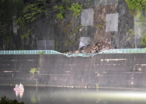 土砂崩れで高校教諭死亡 広島、川に乗用車転落 - 産経ニュース
