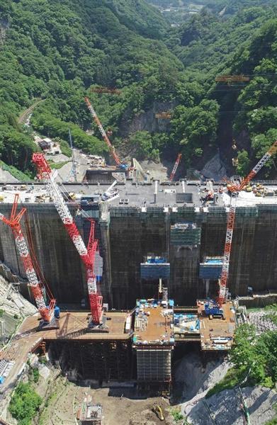 全容を現した「八ツ場ダム」建設急ピッチ - 産経ニュース