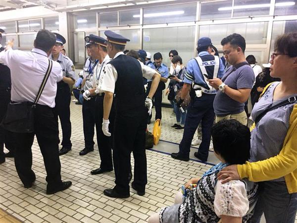 【新幹線3人殺傷】新幹線で男性刺殺、女性2人重傷 22歳男を逮捕、鉈?押収 - 産経ニュース