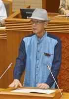 翁長・沖縄知事「責任全うしたい」手術後初の県議会に出席