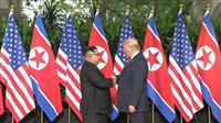 【米朝首脳会談】米朝首脳会談始まる 北の非核化合意が焦点
