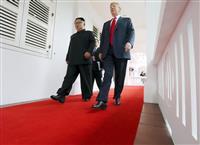 【米朝首脳会談】会談の主導権めぐる「攻防」 余裕をみせたトランプ氏、要所で「戦術的勝利…