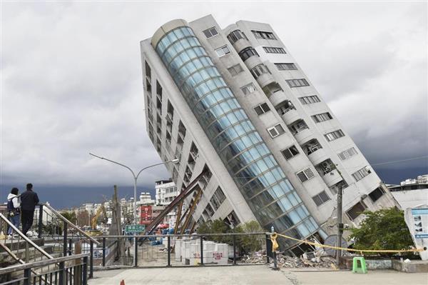 台湾東部・花蓮地震で建築業者ら起訴 - 産経ニュース