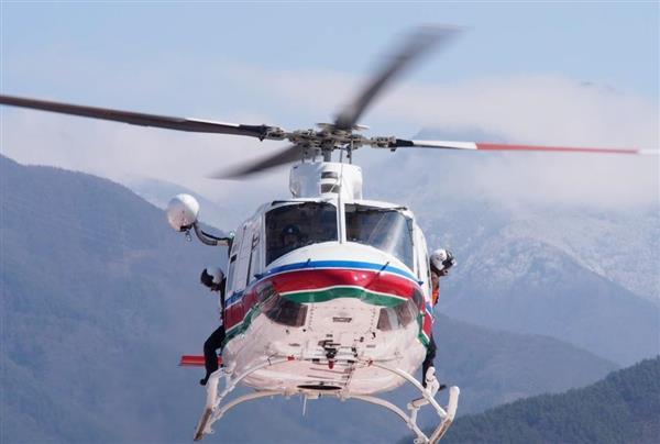 長野県、防災ヘリ購入に30億4823...