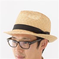 夏の定番、おしゃれで実用的な紳士の麦わら帽子