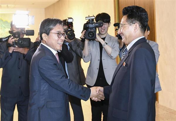 激動・朝鮮半島】アジア大会合同...