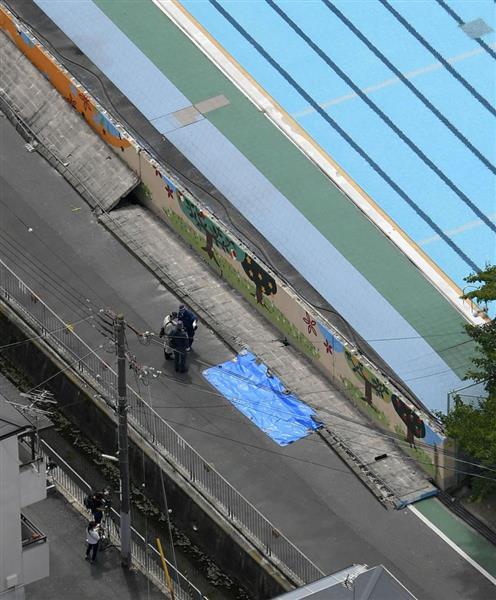 「大阪地震ブロック塀」の画像検索結果