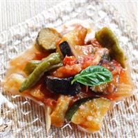 【料理と酒】たっぷりの夏野菜で作る カポナータ