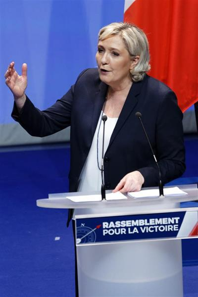 仏極右政党党首、ルペン氏の不正受給認定 EU裁、3800万円返還を ...