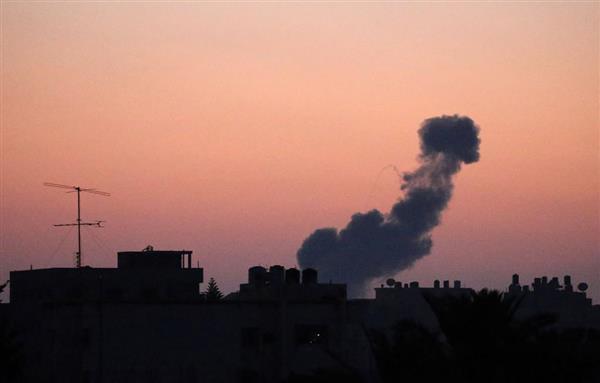 イスラエルがガザ空爆 ロケット弾など30発に報復  - 産経ニュース