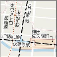 【東京・地名研究室】(2)秋葉原 「あきば」と「あきは」、どっち?