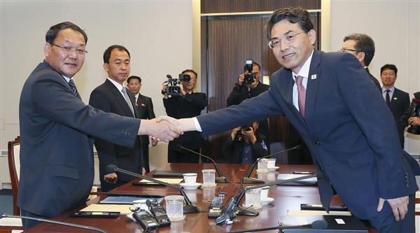 【激動・朝鮮半島】南北が鉄道連結で分科会議 制裁緩和に備え協議入り - 産経ニュース