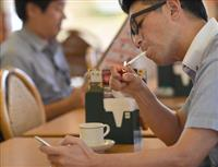 従業員いれば→「食べながら」ダメ 加熱式たばこ→現状のまま分煙 受動喫煙防止、東京都条…