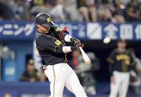 """【プロ野球】""""虎のゴジラ""""陽川が貴重な3ラン 阪神が最下位脱出"""