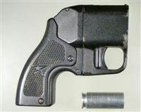 電気式拳銃を全国初摘発 ロシア製「オサーPB-4M」、銃身なし 道警が男逮捕
