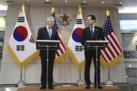 【激動・朝鮮半島】在韓米軍は維持 マティス氏「同盟国への防衛義務は揺るがない」 米韓国…